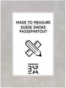 Egen tillverkning - Passepartouter Mount Suede Smoke - Custom Size