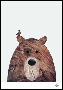 Paperago Wood bear