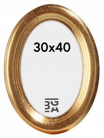 Bubola e Naibo Molly Oval Gold 30x40 cm