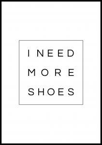 Lagervaror egen produktion I need more shoes