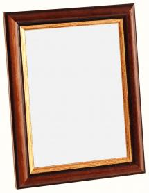 Spegelverkstad Mirror Siljan Brown - Custom Size