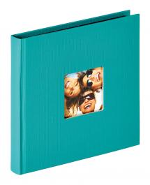 Walther Fun Album Green - 18x18 cm (30 Black pages / 15 sheets)