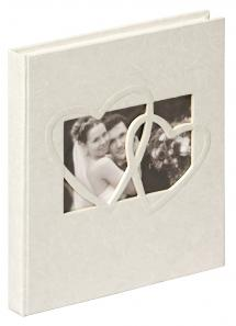 Walther Sweet Heart Guestbook - 23x25 cm (144 White pages / 72 sheets)