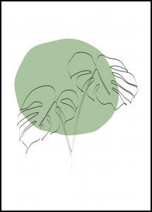 Bildverkstad GREEN II Poster