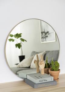 Artlink Mirror Vendela Brass 80 cm Ø
