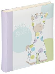 Walther Kima Baby album - 28x30.5 cm (50 White pages / 25 sheets)