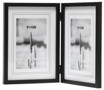 Rock Black Folding picture frame 10x15 cm