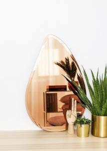 KAILA KAILA Mirror Deluxe Drop Rose Gold 45x70 cm