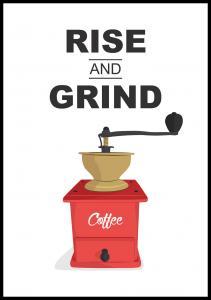 Lagervaror egen produktion Rise and Grind, Coffee