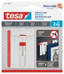 Estancia Tesa - Adjustable self-adhesive nail for all types of wall (max 2x2kg)