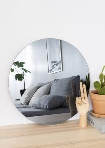 KAILA KAILA Round Mirror Smoked Grey 50 cm Ø