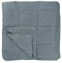 IB Laursen Throw Vintage Double Bed - Light Blue 240x240 cm