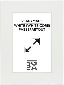 Galleri 1 Mount White (White Core) 40x50 cm (29x39)