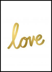 Lagervaror egen produktion Love Poster