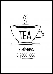 Lagervaror egen produktion Tea is always a good idea