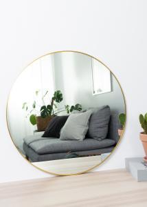 KAILA KAILA Round Mirror - Thin Brass 60 cm Ø