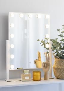 KAILA KAILA Make-up mirror VI White - 46x60 cm