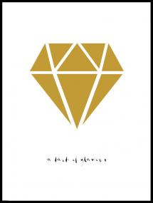 Bildverkstad Diamond - Gold