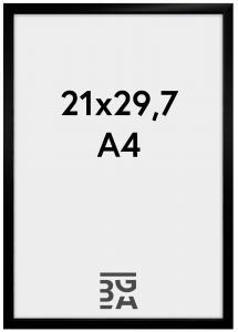BGA Nordic New Lifestyle Black 21x29,7 cm (A4)
