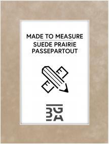 Egen tillverkning - Passepartouter Mount Suede Praire - Custom Size