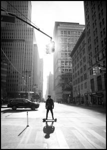Bildverkstad Manhattan Poster