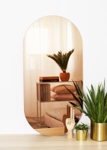 KAILA KAILA Mirror Oval Rose Gold 50x100 cm
