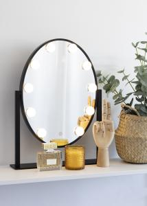 KAILA KAILA Make-up mirror IV Black - 34x47 cm