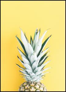 Lagervaror egen produktion Pineapple Yellow Poster