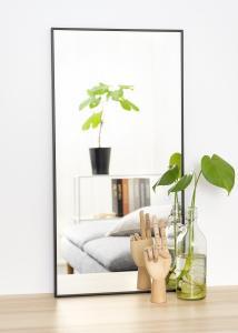Estancia Mirror Narrow Black 40x80 cm