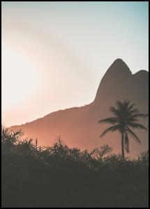 Bildverkstad Mountain Sunset Poster