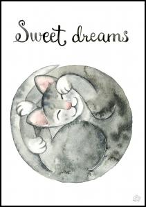Bildverkstad Sweet dreams Poster