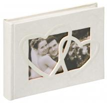 Walther Sweet Heart Photo Album - 22x16 cm (40 White pages / 20 sheets)