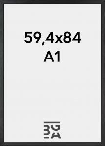 Galleri 1 Frame Black Wood 59,4x84 cm (A1)