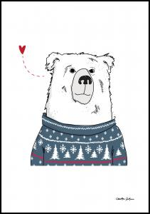 Bildverkstad Winter Bear