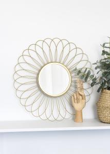 KAILA KAILA Mirror Flower - Gold 50 cm Ø