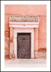 Bildverkstad Marocco-pastell Poster