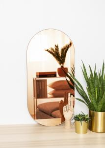 KAILA KAILA Mirror Oval Rose Gold 35x70 cm