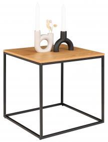 House Nordic Sideboard Vita 45x45 cm - Black/Oak