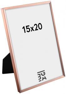 Estancia Slät Metall Copper 15x20 cm