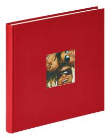 Walther Fun Album Red - 26x25 cm (40 White pages / 20 sheets)