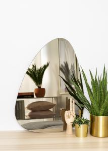 KAILA KAILA Mirror Shape I Dark Bronze 50x70 cm