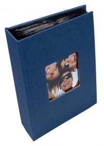 Walther Fun Photo Album Blue - 100 Pictures in 10x15 cm