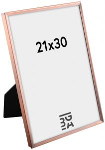 Estancia Slät Metall Copper 21x30 cm