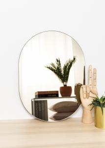 KAILA KAILA Mirror Oval Dark Bronze 30x40 cm