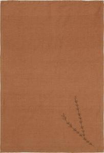 Svanefors Tea Towel Amie - Cinnamon 50x70 cm