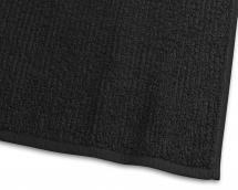 Borganäs of Sweden Hand Towel Stripe Terrycloth - Black 50x70 cm