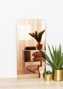 KAILA KAILA Mirror Rectangle Rose Gold 40x80 cm