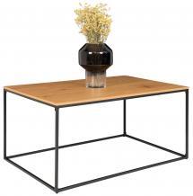 House Nordic Coffee table Vita 60x90 cm - Black/Oak