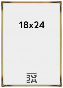 Eiri Kehykset Rosen Metall Gold 18x24 cm