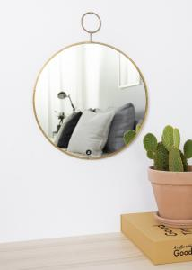 Society of Lifestyle Mirror House Doctor The Loop Brass 32 cm Ø